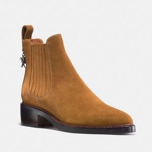 Coach Bowery Suede Chelsea Boot